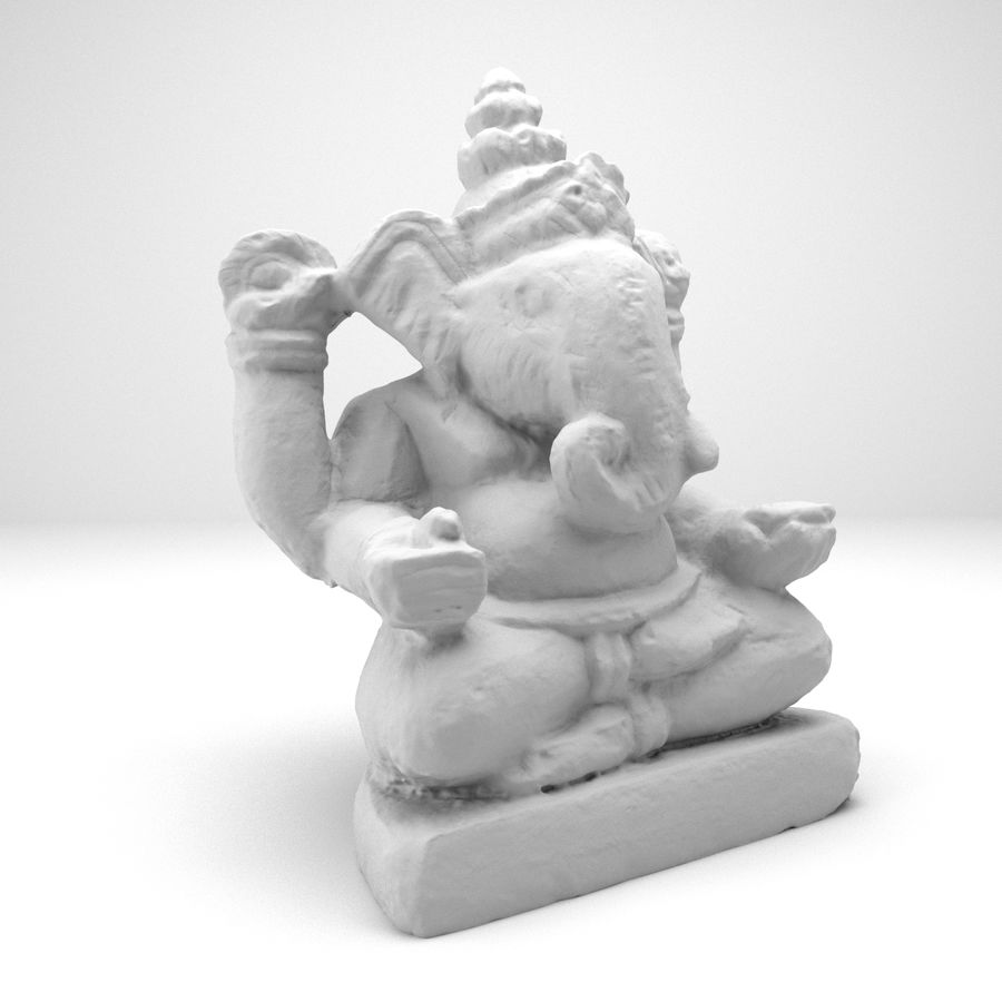Ganesh royalty-free 3d model - Preview no. 4