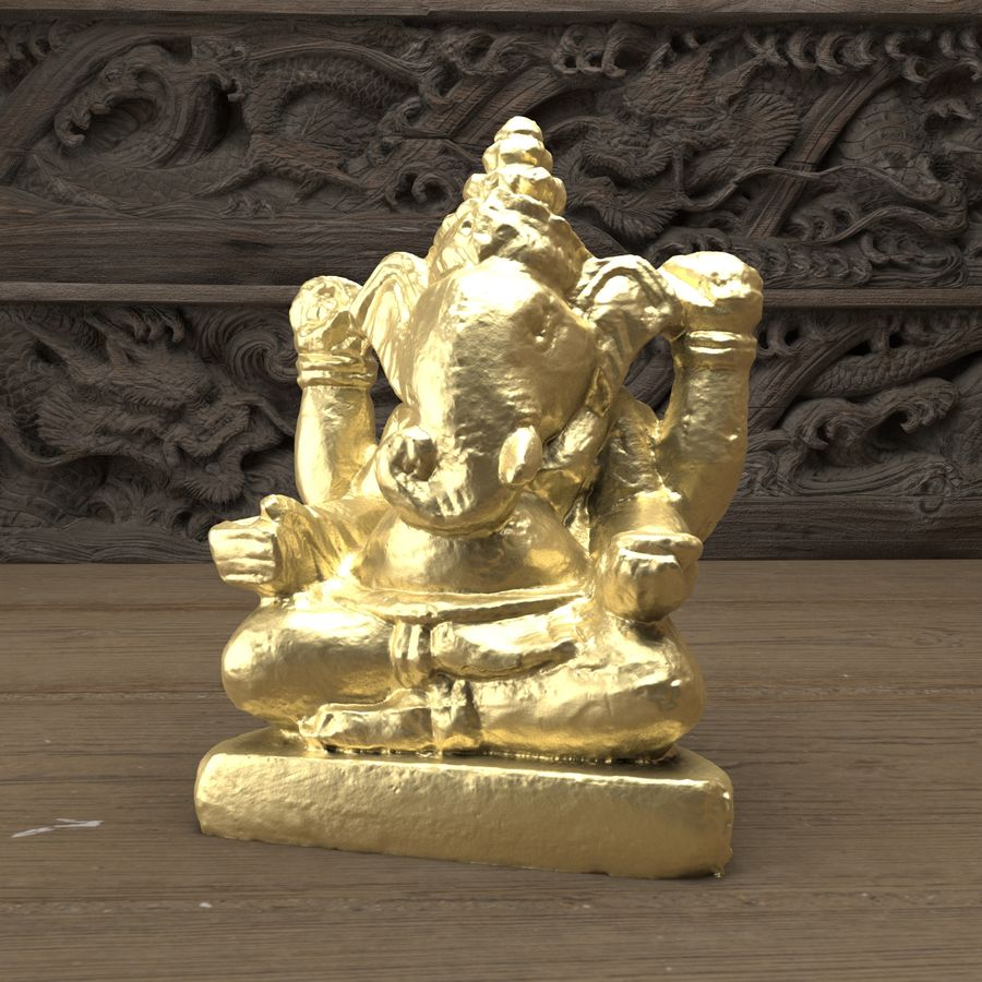 Ganesh royalty-free 3d model - Preview no. 3