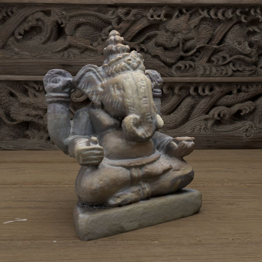 Ganesh royalty-free 3d model - Preview no. 2