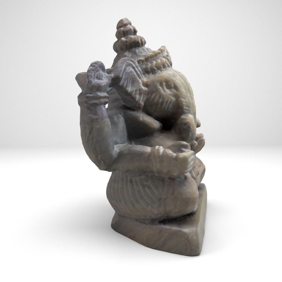 Ganesh royalty-free 3d model - Preview no. 9