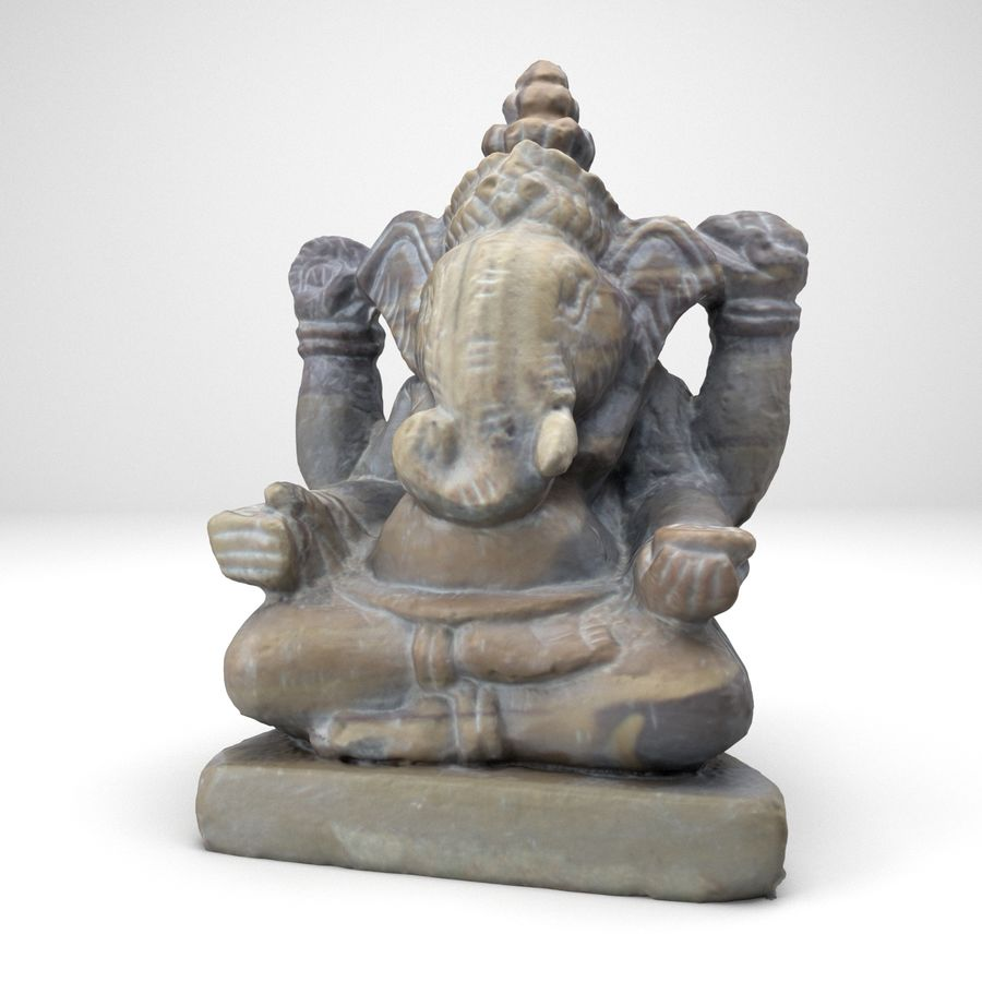 Ganesh royalty-free 3d model - Preview no. 1