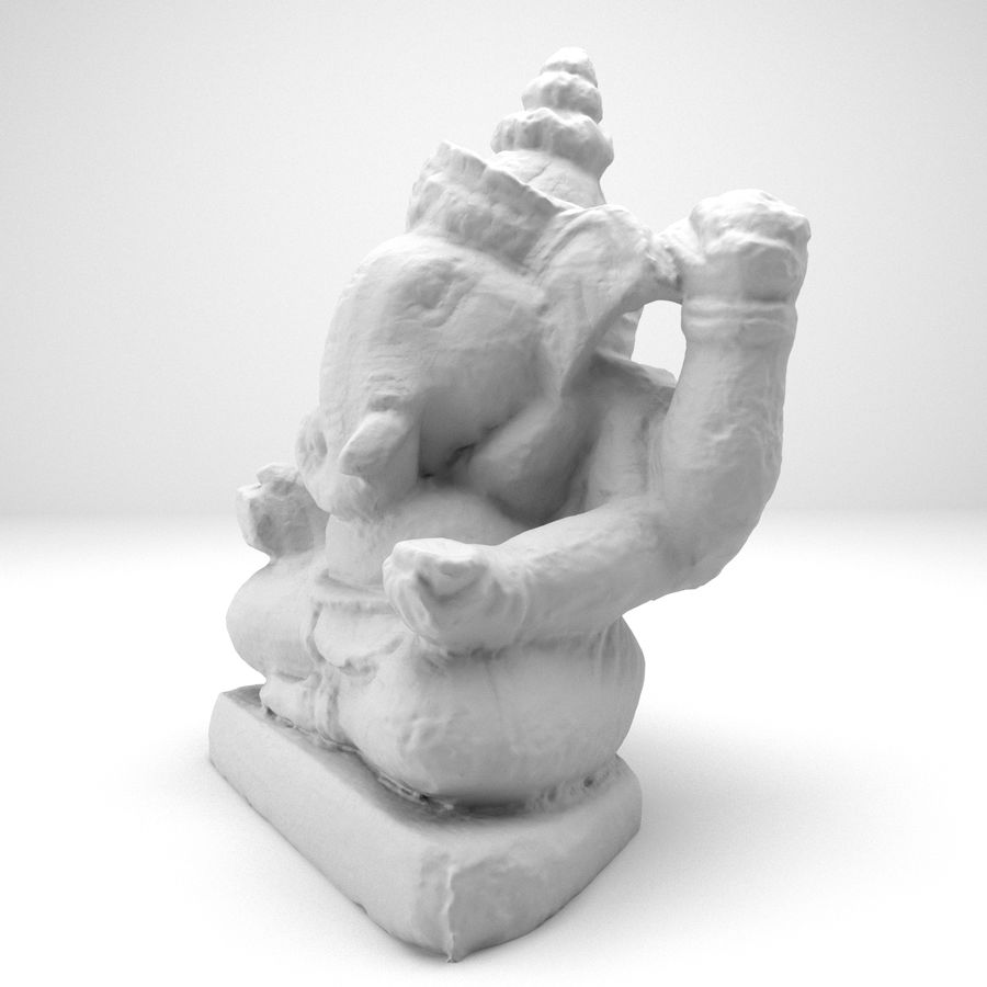 Ganesh royalty-free 3d model - Preview no. 7
