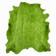 Tappeto in pelle di mucca verde 3d model