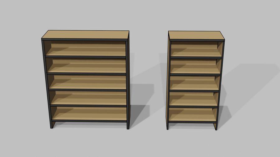 Офисная мебель royalty-free 3d model - Preview no. 13