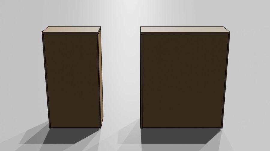 Офисная мебель royalty-free 3d model - Preview no. 14