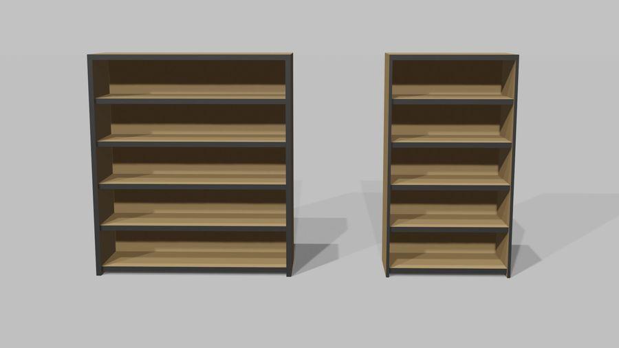 Офисная мебель royalty-free 3d model - Preview no. 6