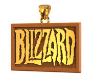 Blizzard Logo Pendant 3d model
