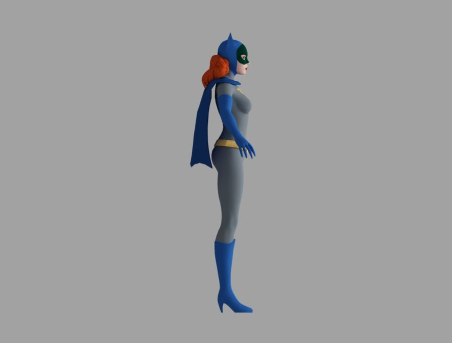Bati-chica royalty-free modelo 3d - Preview no. 4