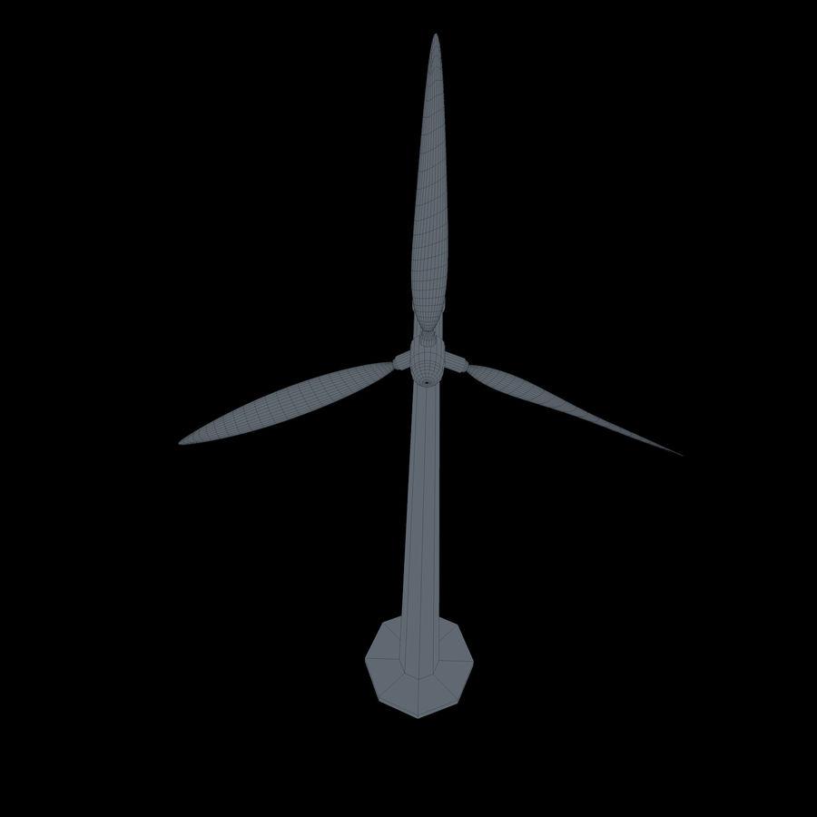 Ветровая турбина royalty-free 3d model - Preview no. 12