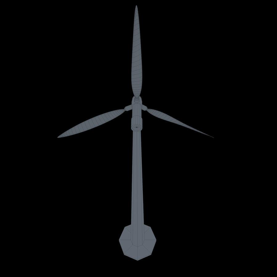 Ветровая турбина royalty-free 3d model - Preview no. 14