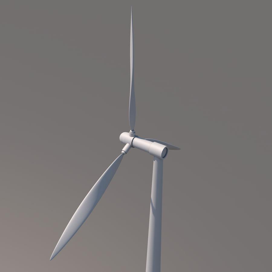 Ветровая турбина royalty-free 3d model - Preview no. 6