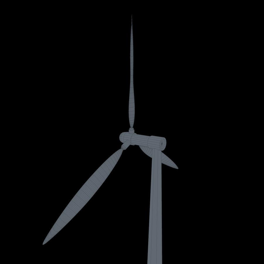 Ветровая турбина royalty-free 3d model - Preview no. 10