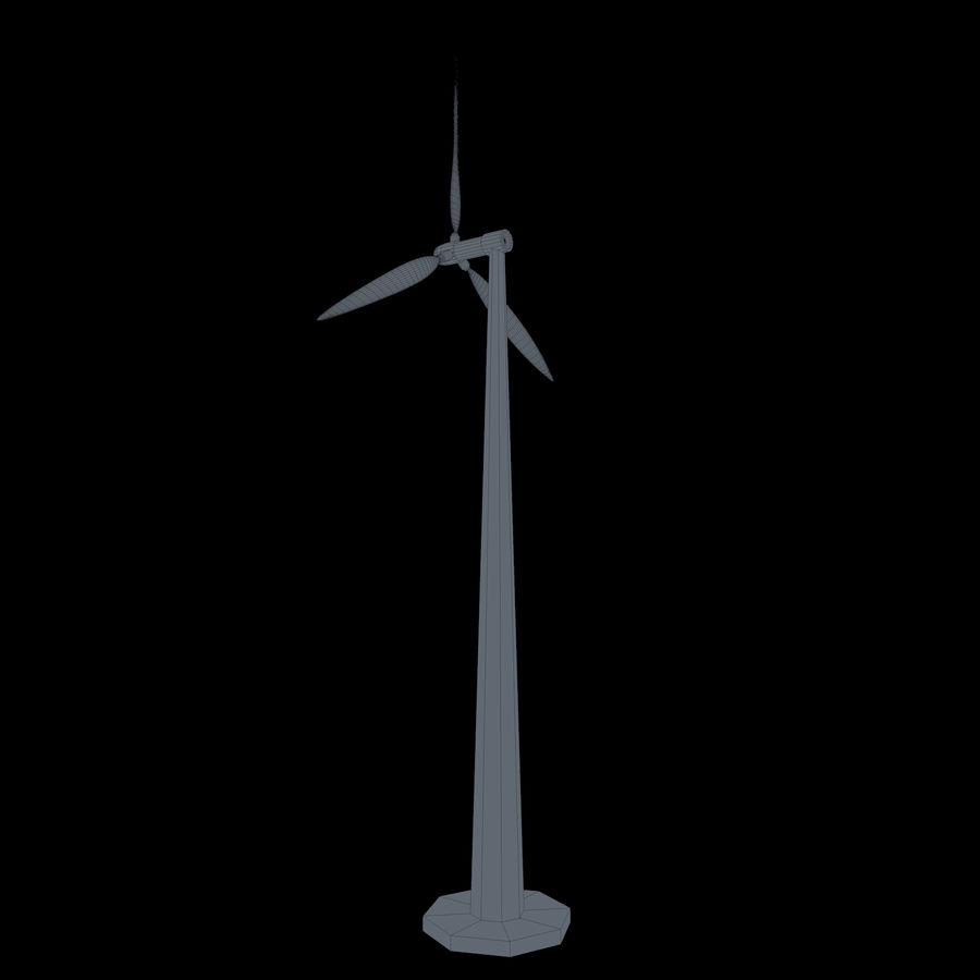 Ветровая турбина royalty-free 3d model - Preview no. 11