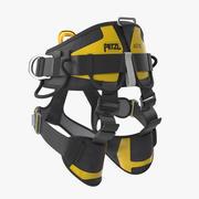 Petzl Astro Sit Fast Sit Climbing Harness 3d model