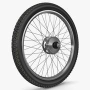自転車ホイール 3d model