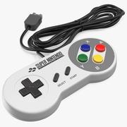 Joystick per Nintendo SNES 3d model