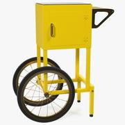 Popcorn Cart Generic 3d model
