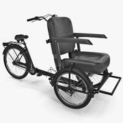 Cycle Rickshaw 3d model
