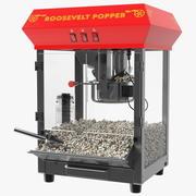 Świetna północna maszyna do popcornu 3d model