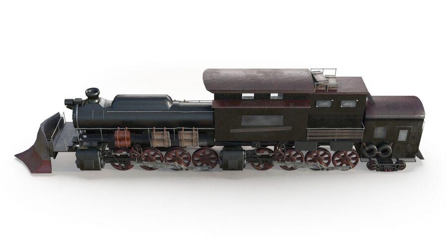 Locomotive model royalty-free 3d model - Preview no. 6