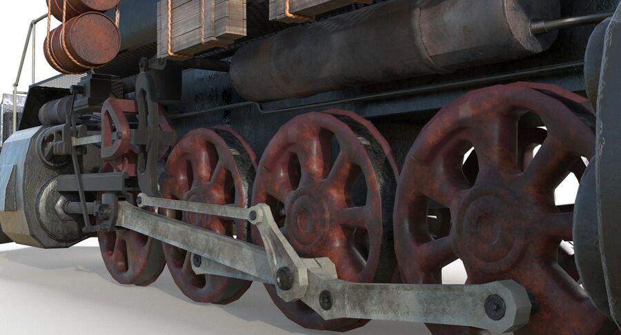 Locomotive model royalty-free 3d model - Preview no. 8