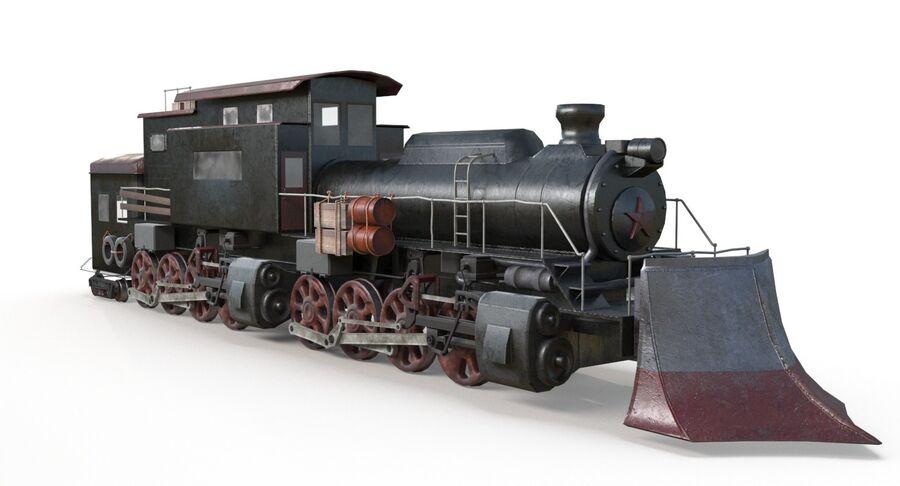 Locomotive model royalty-free 3d model - Preview no. 2
