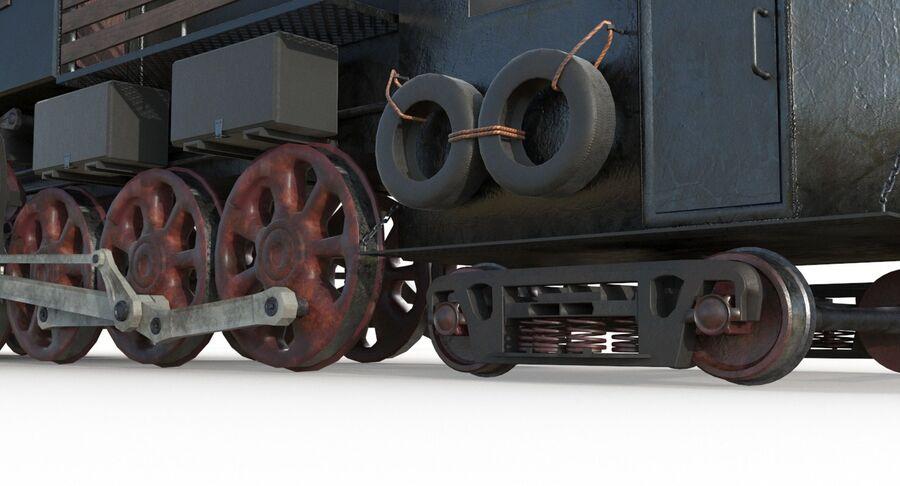 Locomotive model royalty-free 3d model - Preview no. 13