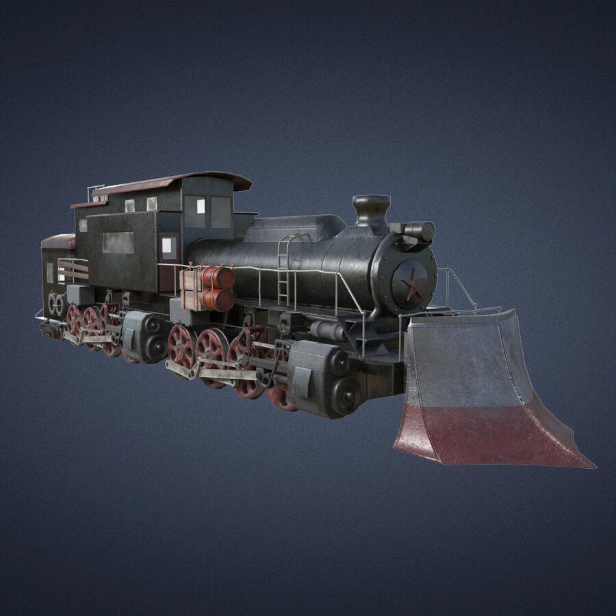 Locomotive model royalty-free 3d model - Preview no. 1