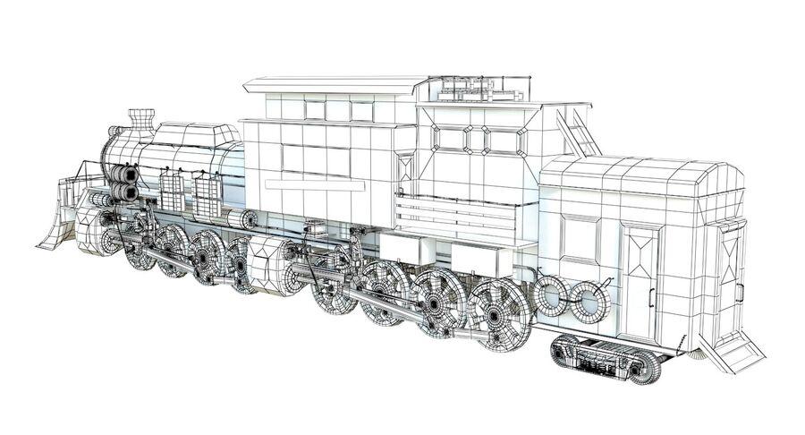 Locomotive model royalty-free 3d model - Preview no. 15