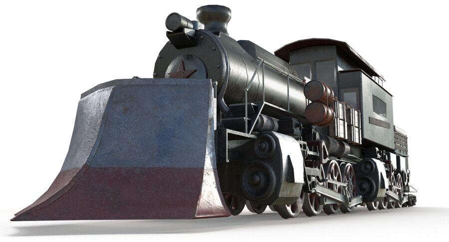 Locomotive model royalty-free 3d model - Preview no. 7