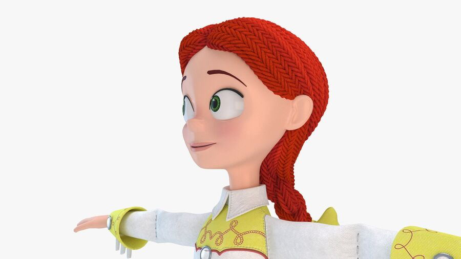 Jessie 2020 royalty-free 3d model - Preview no. 10