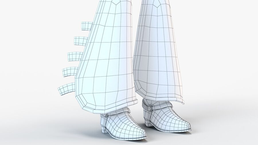 Jessie 2020 royalty-free 3d model - Preview no. 22
