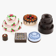 Cakes 3d model
