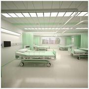 Hospital Ward 3d model