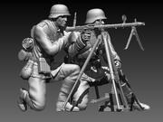 German soldiers 3d model