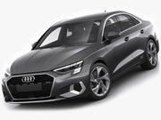Audi A3 Sedan 2021 3d model
