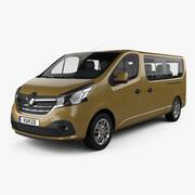 Renault Trafic Passagerare LWB 2020 3d model