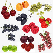 Fruit Collection 11 in 1 3d model