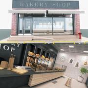 Bakery Shop 3d model
