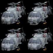 西科斯基海鹰包 3d model