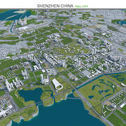 Shenzhen na China 3d model