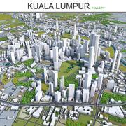 쿠알라 룸푸르 3d model