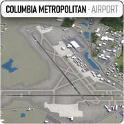 Columbia Metropolitan Airport - CAE 3d model