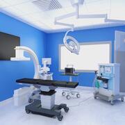 Hybrid-Operationssaal 3d model