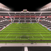 Soccer Stadium 01 3d model