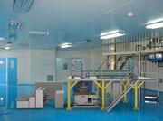 Fertigungslinie für die Herstellung von schmelzgeblasenem Stoff 3d model