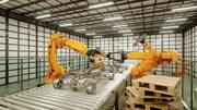 産業用自動車製造 3d model