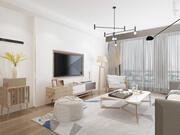 Lägenhet interiör 3d model