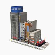 日本の街並み秋葉原0002 3d model