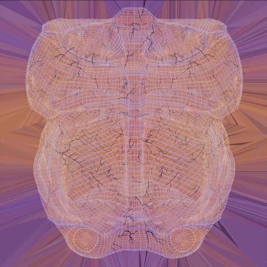 人間の頭の解剖学 royalty-free 3d model - Preview no. 72